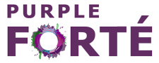 Official Logo for Purple Forte