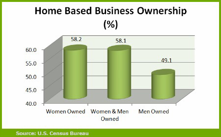 Bareau of census home based business ownership data