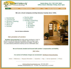 Northbay Housecleaning Business Advice & Coaching