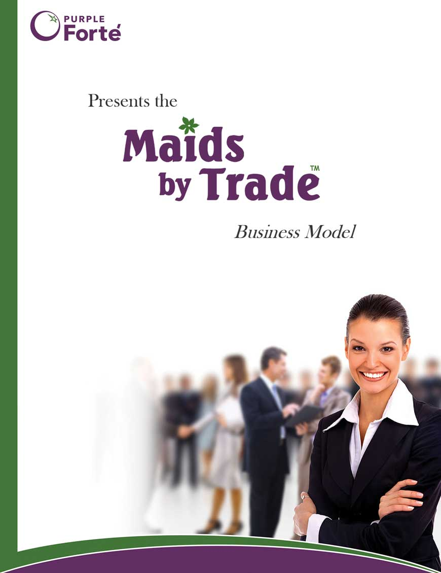 house cleaning franchise business model Maids by Trade